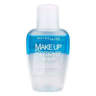 [INSTOCK] MAYBELLINE Makeup Remover (EYE & LIP)
