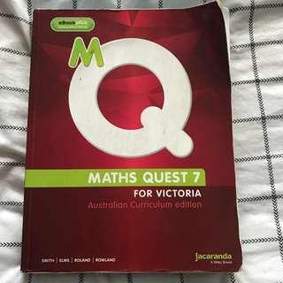 MATH QUEST 7