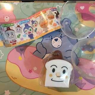 日本麵包超人吐司超人扭蛋