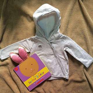 Cotton On Baby Hooded Jacket