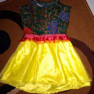 Dress anak usia 1-2thn
