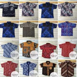 Baju batik for kids