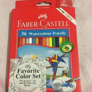 Faber Castell 36 Watercolor Pencil