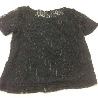 Cotton on lace top