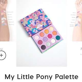 🔥現貨到 Colourpop my Little pony眼影盤