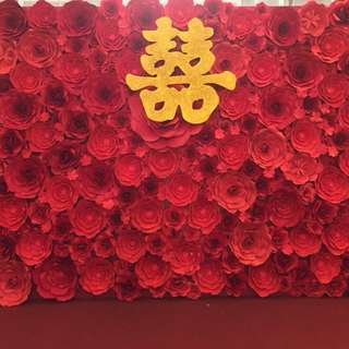 Paper flower Photo booth