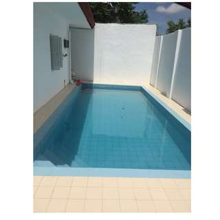 House & Lot w/4 bed rooms & swimming pool in Angles City Pampanga