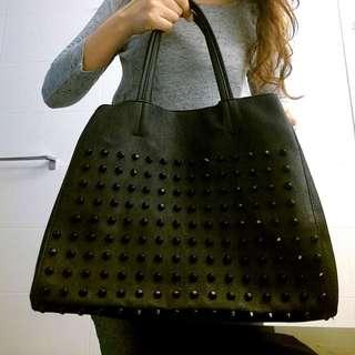 Steve Madden Shopping Tote Bag