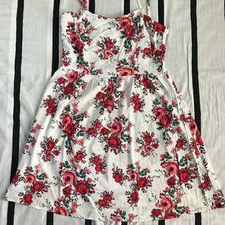 Divided by H&M Floral Busty Dress