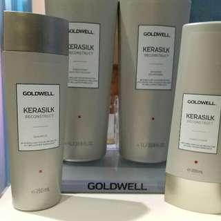 Goldwell Kerasilk 銀色洗頭水包郵