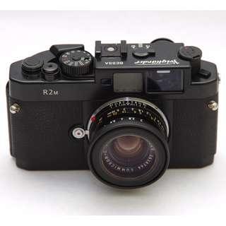 Voigtlander Bessa-R2M 35mm Rangefinder Manual Focus Camera