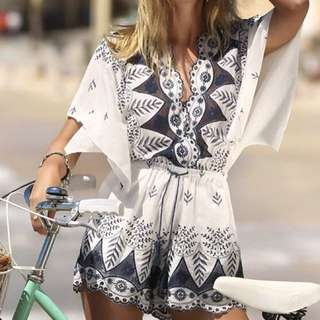 Seven Wonders playsuit
