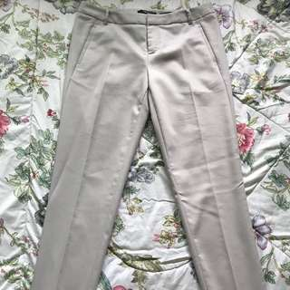 G2000 Capri Skinny Beige Work Pants