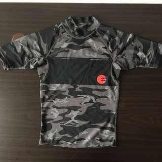 Army patterns sports/swimming top