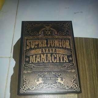 [Pre-loved/Ready stock] SUPER JUNIOR - Mamacita (Version A)