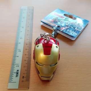 Disneyland Ironman LED Keychain