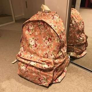 🌸 Floral backpack 🌸