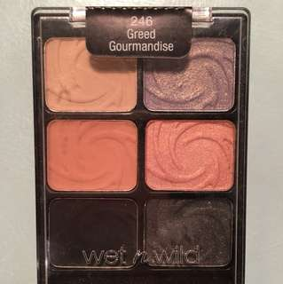 Wet n Wild Coloricon 246 Greed Gourmandise palette