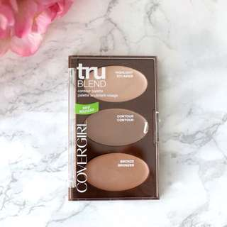 Covergirl Trublend Contour Palette (Highlight, Contour, Bronze)