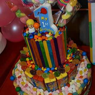 Party Needs Candy Factory Buffet