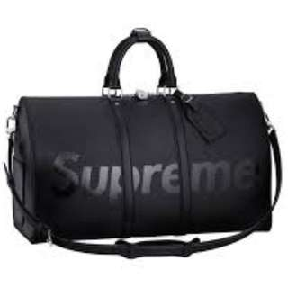 LV supreme duffle bag *with certificates*