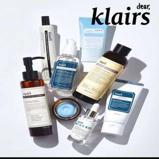 Sale dear Klairs Assorted