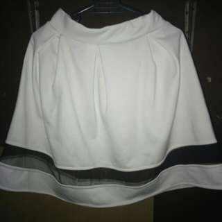 White Skaters skirt