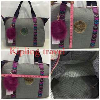 Kipling traveling bag