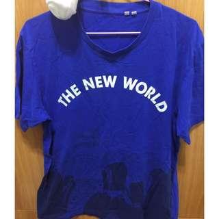 🚚 9成新 T恤 藍 #幫你省運費