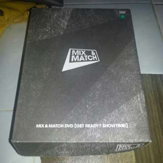 [Pre-loved/Ready stock] Mix & Match DVD (Get Ready? Showtime!)