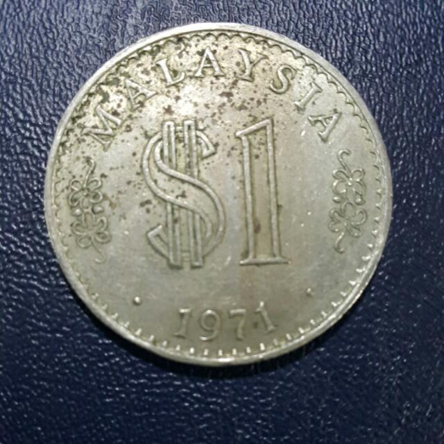 1971 $1 Big Coin