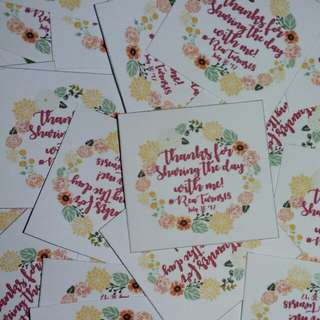 Souvenir tags/ labels/ logo #invitations #floral #boho #bohemian #pink #debut #birthday #wedding #events