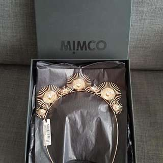 "MIMCO ""A NEW LEAF"" HEAD PIECE/CROWN • ROSE GOLD"