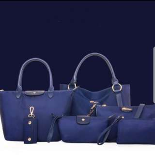 6 pieces fashion bag