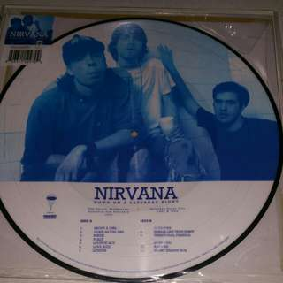 Nirvana -down on a saturday night (picture lp)