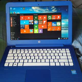 NEW YEAR PROMO: HP STREAM NOTEBOOK PC13 BLUE COLOR