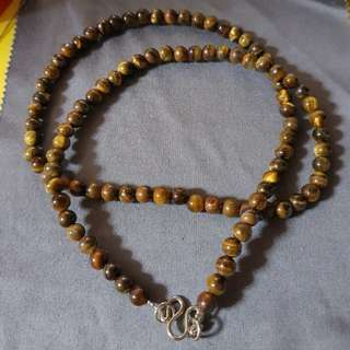Real Stone Amulet Necklace