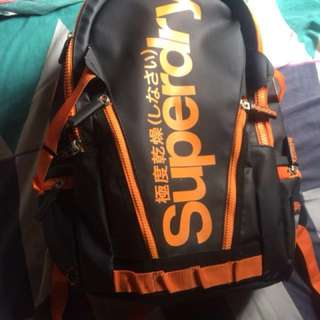 REPRICED Authentic SuperDry Bag