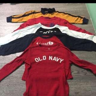 🌸Baby GAP & Old Navy Long Sleeves T shirt