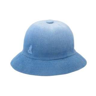 kangol 漸層鐘型帽-藍