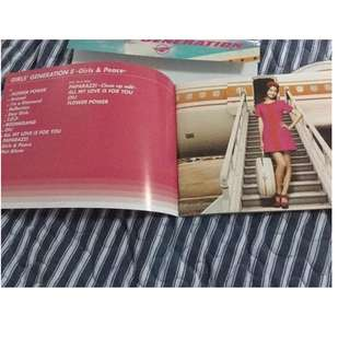Girls' Generation Girls and Peace CD and DVD