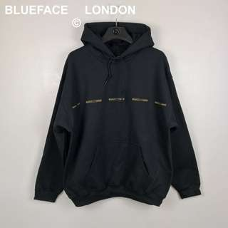 BlueFace London Multi Badge Logo Hoodie