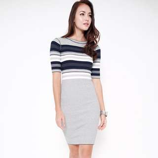 MDS Alexis Dress In Grey