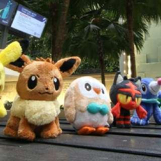 Pokemon Plush Changi