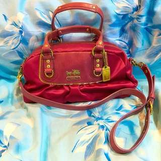 Coach Amanda Satin Mini Satchel (AUTHENTIC)