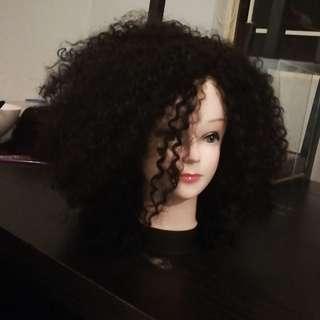 Synthetic wig cap