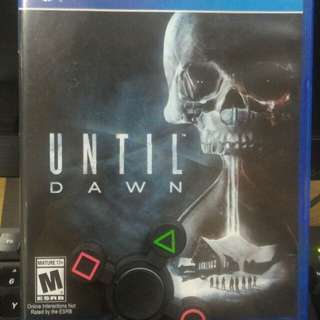 [PS 4] Until Dawn