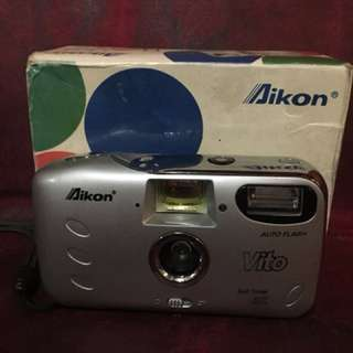 Nikon Aikon Vito Pocket Kamera Film Analog