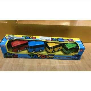 Set mainan mobil TAYO