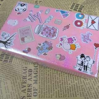 Pink Unicorn School Supply Set